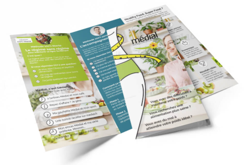 Medial Trifold Brochure