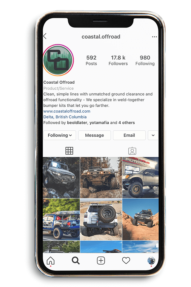 Coastal Offroad IG account
